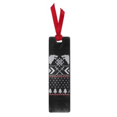Winter Is Coming Game Of Thrones Ugly Christmas Black Background Small Book Marks