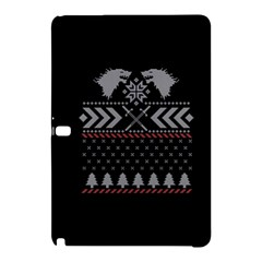Winter Is Coming Game Of Thrones Ugly Christmas Black Background Samsung Galaxy Tab Pro 10 1 Hardshell Case