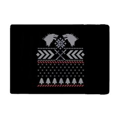 Winter Is Coming Game Of Thrones Ugly Christmas Black Background iPad Mini 2 Flip Cases