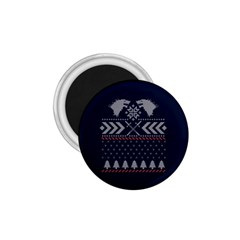 Winter Is Coming Game Of Thrones Ugly Christmas Blue Background 1 75  Magnets
