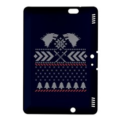 Winter Is Coming Game Of Thrones Ugly Christmas Blue Background Kindle Fire Hdx 8 9  Hardshell Case