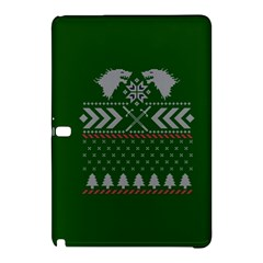 Winter Is Coming Game Of Thrones Ugly Christmas Green Background Samsung Galaxy Tab Pro 10 1 Hardshell Case