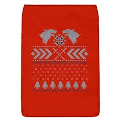 Winter Is Coming Game Of Thrones Ugly Christmas Red Background Flap Covers (s)
