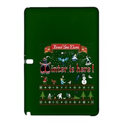 Winter Is Here Ugly Holiday Christmas Green Background Samsung Galaxy Tab Pro 12 2 Hardshell Case
