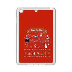 Winter Is Here Ugly Holiday Christmas Red Background Ipad Mini 2 Enamel Coated Cases