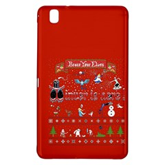 Winter Is Here Ugly Holiday Christmas Red Background Samsung Galaxy Tab Pro 8 4 Hardshell Case