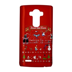 Winter Is Here Ugly Holiday Christmas Red Background Lg G4 Hardshell Case