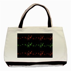 Decorative Xmas snowflakes Basic Tote Bag (Two Sides)