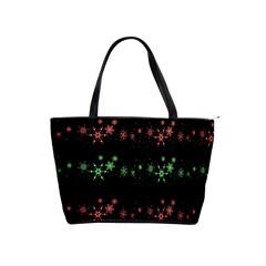 Decorative Xmas snowflakes Shoulder Handbags