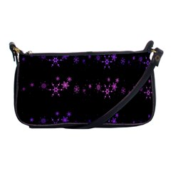 Purple elegant Xmas Shoulder Clutch Bags