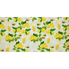 Lemon Print Fruite Juise Fress Drink You Are Invited 3d Greeting Card (8x4)