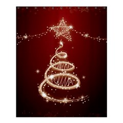 Shiny Christmas Tree Shower Curtain 60  X 72  (medium)