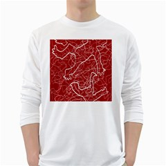 Singt White Long Sleeve T Shirts