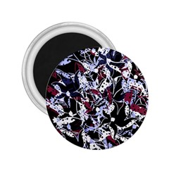 Decorative abstract floral desing 2.25  Magnets