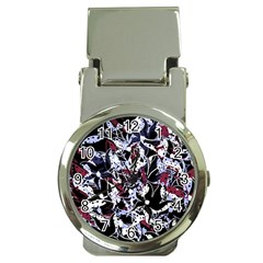 Decorative abstract floral desing Money Clip Watches