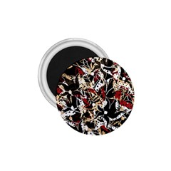 Abstract floral design 1.75  Magnets