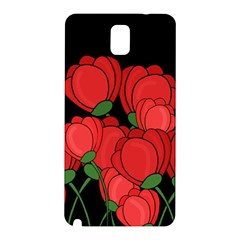 Red Tulips Samsung Galaxy Note 3 N9005 Hardshell Back Case