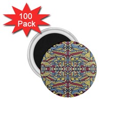 Multicolor Abstract 1 75  Magnets (100 Pack)