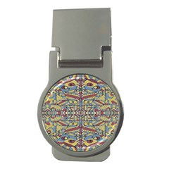 Multicolor Abstract Money Clips (round)
