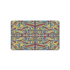 Multicolor Abstract Magnet (name Card)
