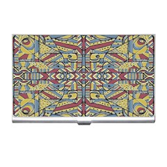 Multicolor Abstract Business Card Holders