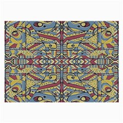 Multicolor Abstract Large Glasses Cloth (2 Side)