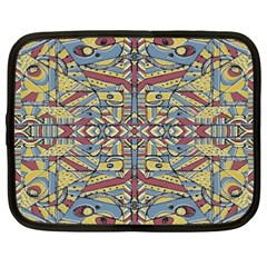 Multicolor Abstract Netbook Case (xxl)