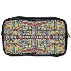 Multicolor Abstract Toiletries Bags 2 Side