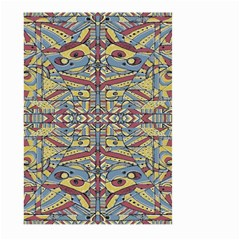 Multicolor Abstract Large Garden Flag (two Sides)