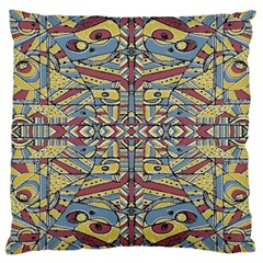 Multicolor Abstract Large Cushion Case (two Sides)