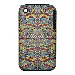 Multicolor Abstract Apple Iphone 3g/3gs Hardshell Case (pc+silicone)