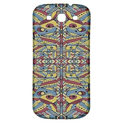 Multicolor Abstract Samsung Galaxy S3 S Iii Classic Hardshell Back Case