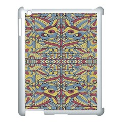 Multicolor Abstract Apple Ipad 3/4 Case (white)