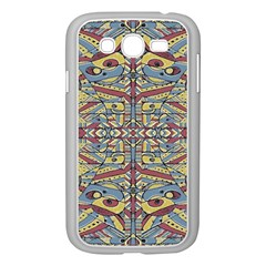 Multicolor Abstract Samsung Galaxy Grand Duos I9082 Case (white)