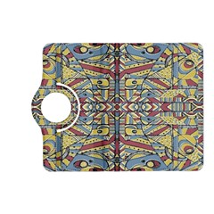 Multicolor Abstract Kindle Fire Hd (2013) Flip 360 Case