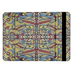 Multicolor Abstract Samsung Galaxy Tab Pro 12 2  Flip Case