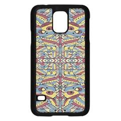 Multicolor Abstract Samsung Galaxy S5 Case (black)