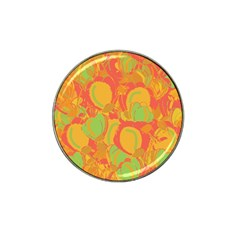 Orange garden Hat Clip Ball Marker (10 pack)