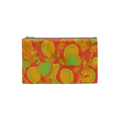 Orange garden Cosmetic Bag (Small)