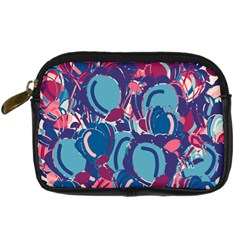 Blue garden Digital Camera Cases