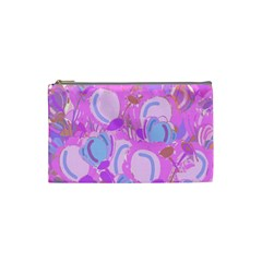 Pink garden Cosmetic Bag (Small)