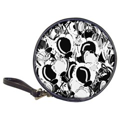 Black and white garden Classic 20-CD Wallets