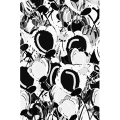 Black and white garden 5.5  x 8.5  Notebooks
