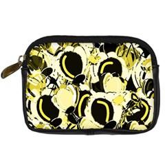 Yellow abstract garden Digital Camera Cases