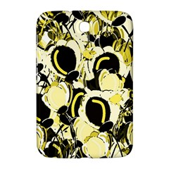 Yellow Abstract Garden Samsung Galaxy Note 8 0 N5100 Hardshell Case