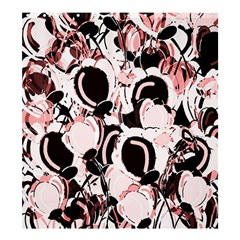 Pink abstract garden Shower Curtain 66  x 72  (Large)