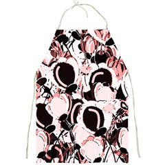 Pink abstract garden Full Print Aprons