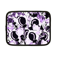 Purple abstract garden Netbook Case (Small)