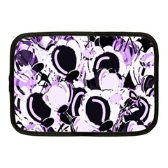 Purple abstract garden Netbook Case (Medium)