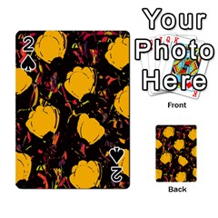 Yellow Roses  Playing Cards 54 Designs